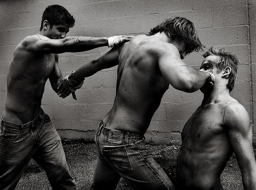 Fight by Polina Sergeeva