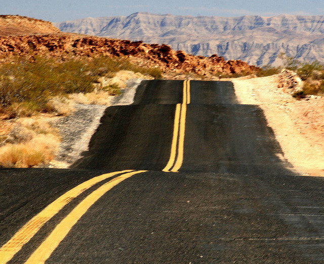 Endless Road by Frank Kovalchek