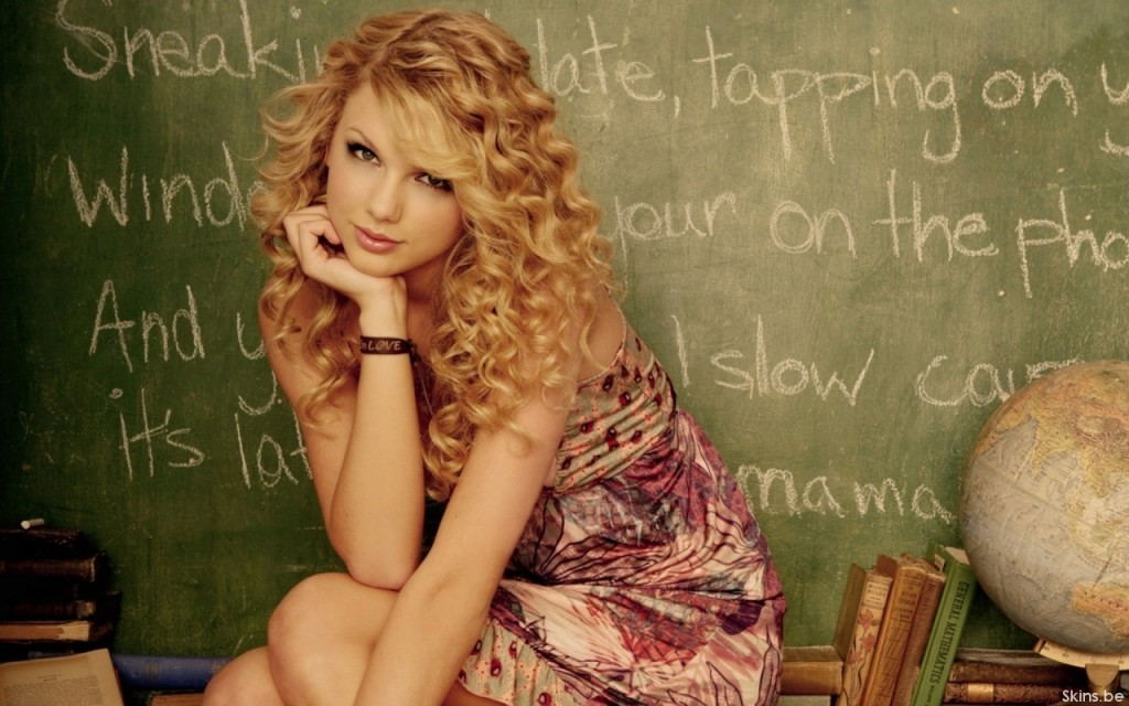 Taylor Swift Chalkboard