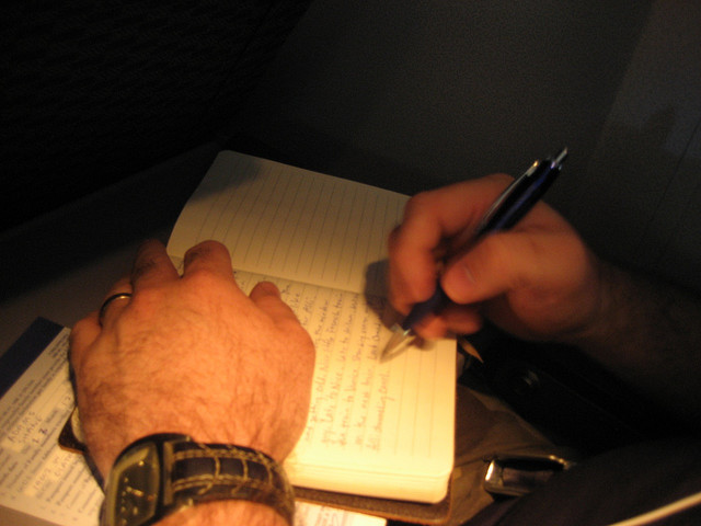 Writing In A Diary ~ Are you writing in first person or about yourself the