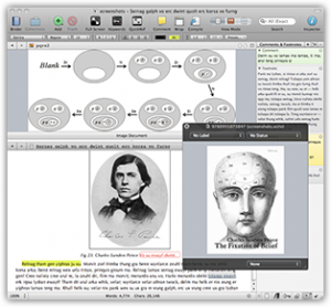 thesis writing with scrivener