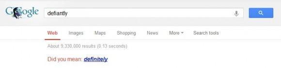 Typo Google