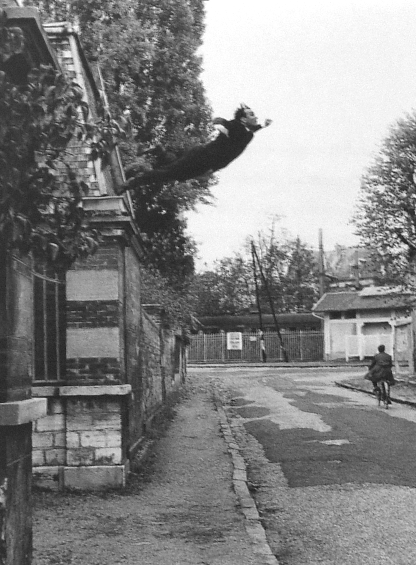 Yves Klein's Leap Into the Void