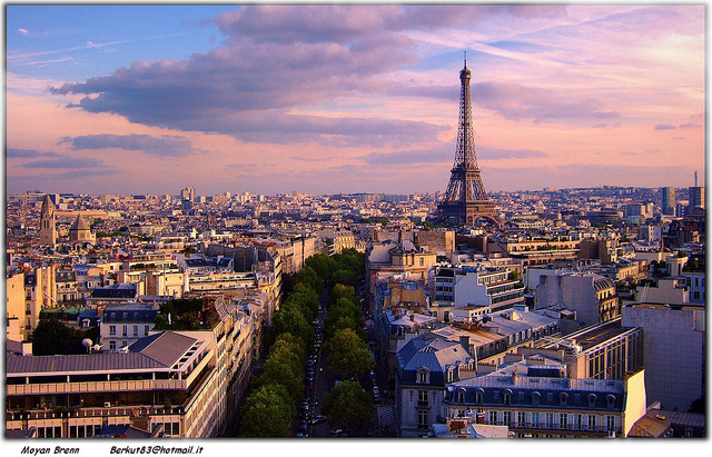 Paris, writers and cities, writers and location