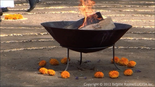 """Sacred Fire"" by Birgitte Rasine"