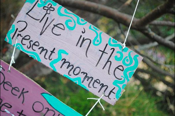 Embrace the Present Moment Writing Prompt