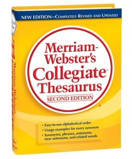 Thesaurus Merriam Webster