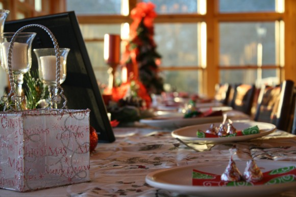 Christmas table, family, stories