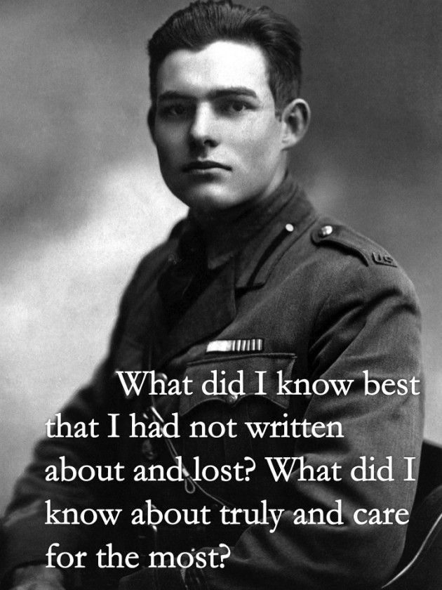 essays written by ernest hemingway Read the sun also rises, by ernest hemingway free essay and over 88,000 other research documents the sun also rises written by ernest hemingway.