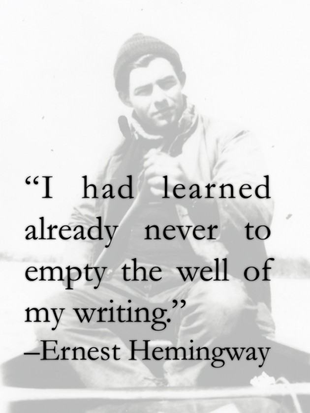 complete list of ernest hemingway books