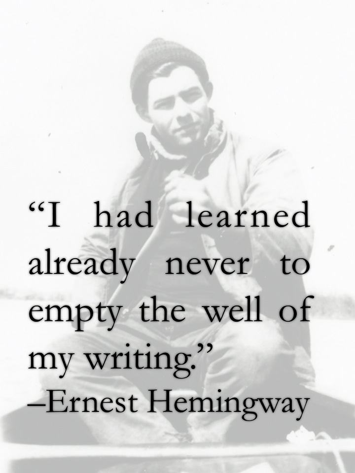 how ernest hemingway differs from his fellow writers Ernest hemingway's writing style mirrored the rules he had learnedwhile working as a journalist at the kansas city star newspaperhis editor gave him lessons in writing that h e continued to.