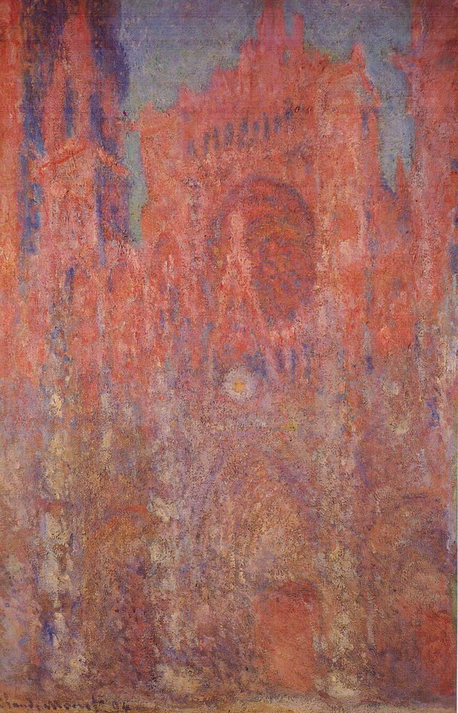 Claude Monet Rouen Cathedral
