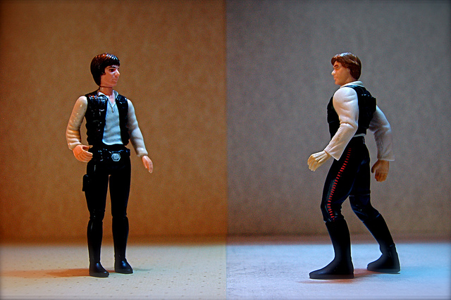 Han Solo vs Luke Skywalker