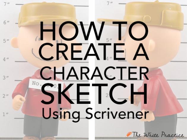 Character Sketch Scrivener