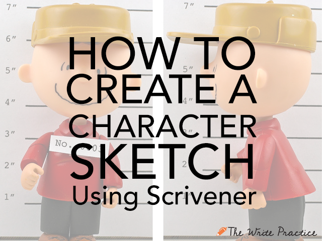 How To Create a Character Sketch Using Scrivener