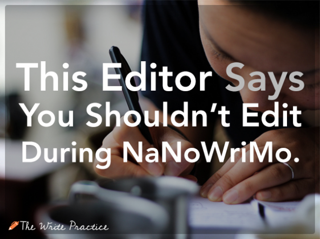 Editing NaNoWriMo