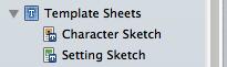 Template Sheets Folder