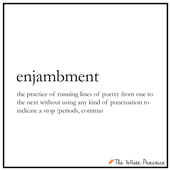 Enjambment Definition and Examples for Writers