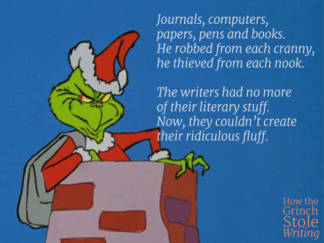 how the grinch stole writing