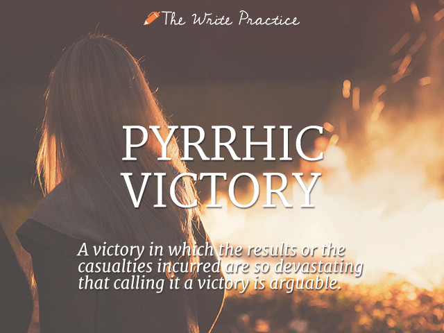 a prryhic victory analysis Pyrrhic victory what's the meaning of the phrase 'pyrrhic victory' a victory gained at too great a cost what's the origin of the phrase 'pyrrhic victory'.
