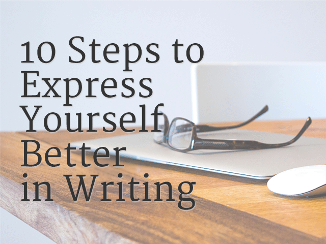Writing to express feelings