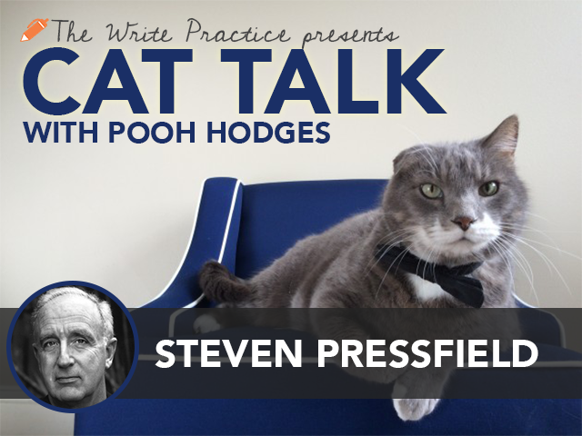 """Cat Talk with Steven Pressfield, Author of """"Do The Work"""""""
