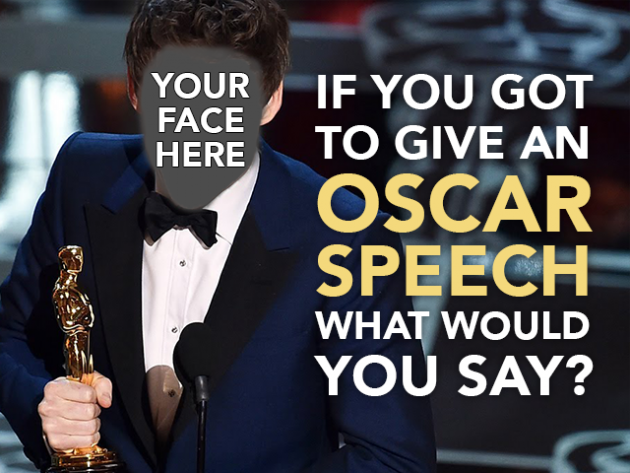 Oscar speech