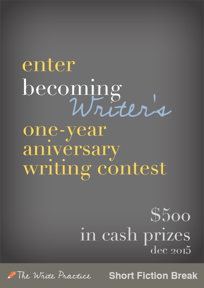 Announcing the Anniversary Writing Contest