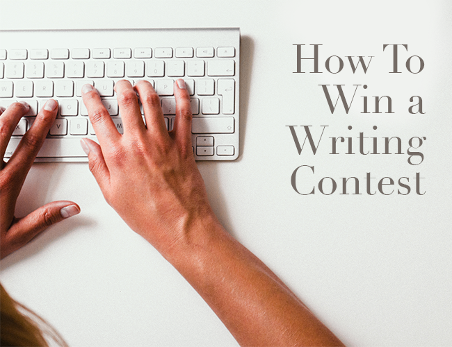 How to write a contest winning essay