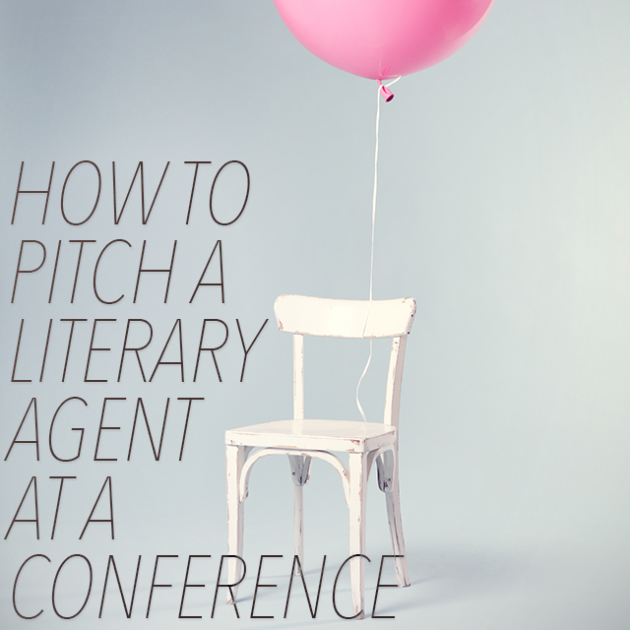 How to Pitch a Literary Agent at a Conference