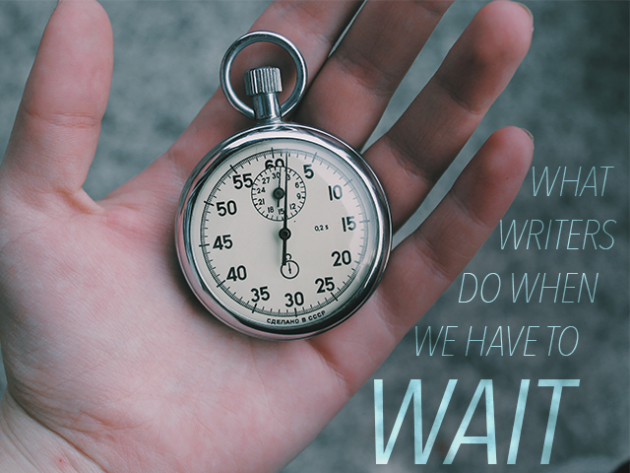 What Writers Do When We Have to Wait