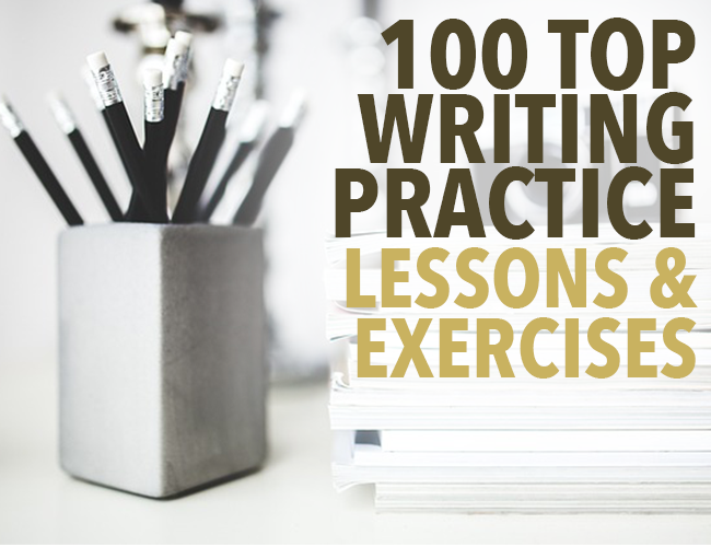 100 Writing Practice Lessons & Exercises