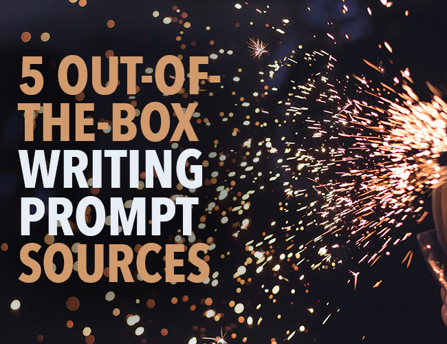 5 Out-of-the-Box Writing Prompt Sources