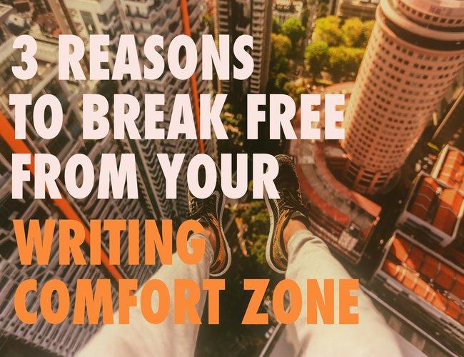 Writing Comfort Zone