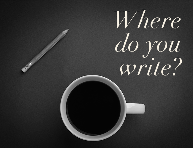 Where Do You Write? (And a Giveaway!)