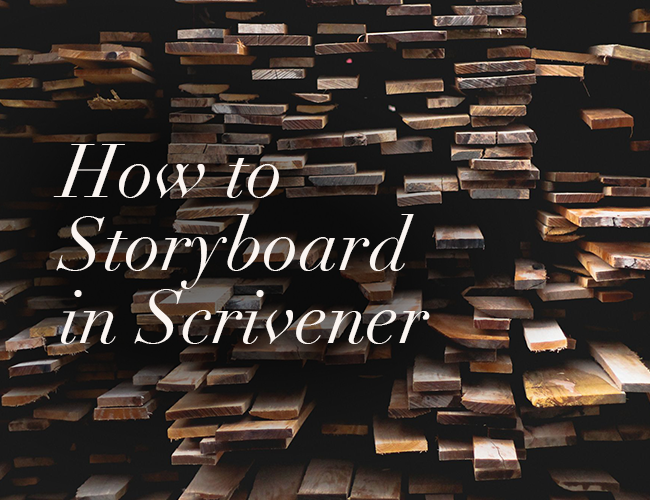 How to Storyboard in Scrivener