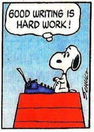 Snoopy wouldn't lie.