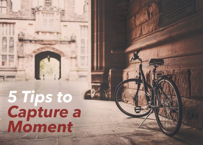 5 Tips to Capture a Moment in Writing