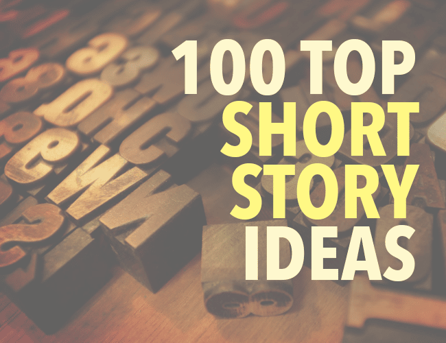 creative story ideas to write about