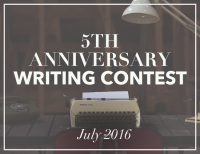 5th Anniversary Writing Contest