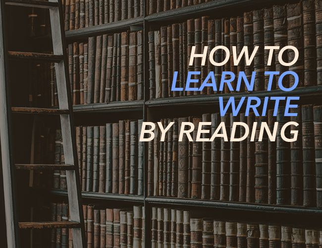 How to learn to write