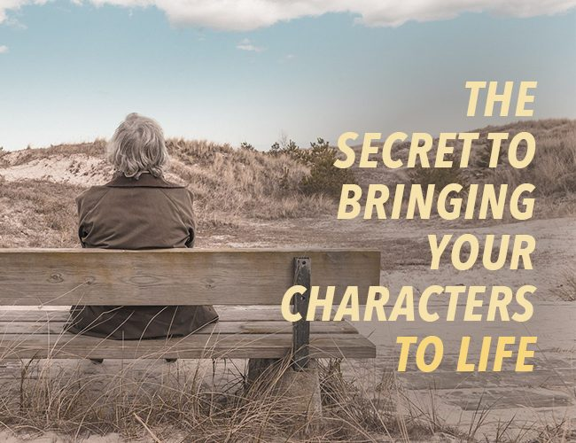 The Secret to Characterization: Bringing Characters to Life