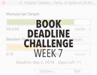 Book Deadline Challenge Update- Week 7