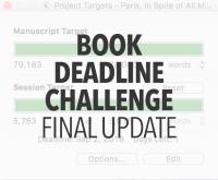 Book Deadline Update