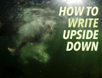 How to Write Upside Down