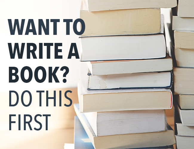 Want to Write a Book? Do This First: Premise