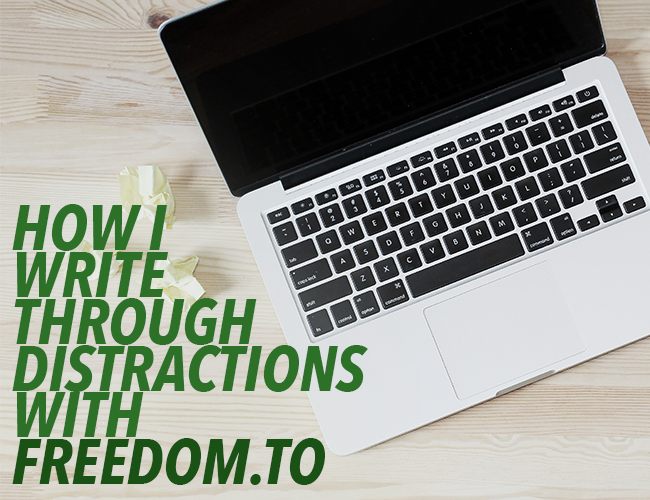 Book Writing Software: How I Write Through Distractions with Freedom