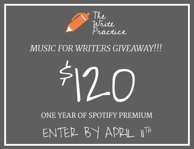 Why Music Is a Writer's Secret Weapon (+ Win a Year of Music for Writing)