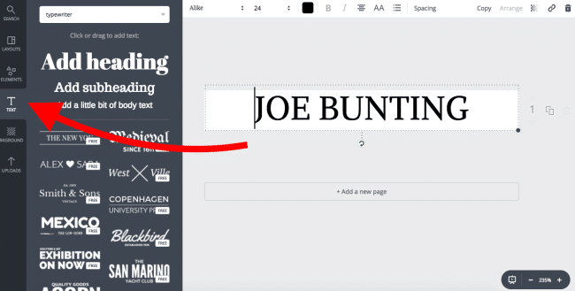 Building an Author Website: Creating a Header with Canva 2