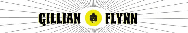 Building an Author Website: Gillian Flynn's Header
